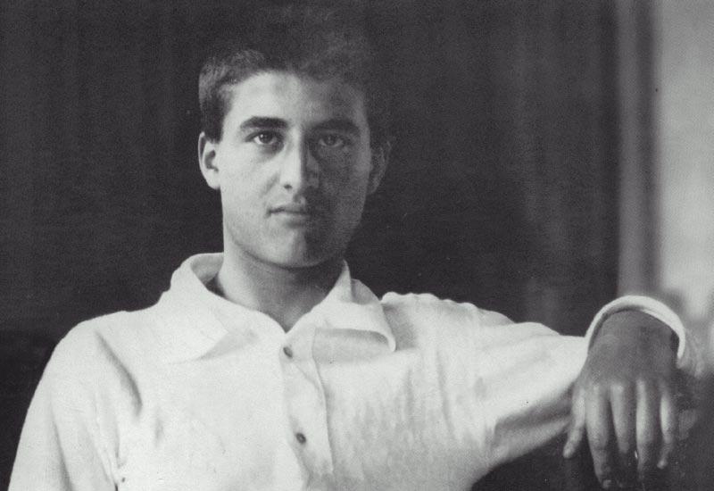 Pier Giorgio aos 17 anos