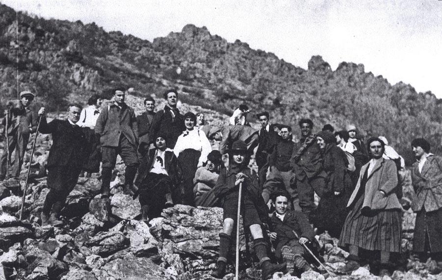 Pier Giorgio e seus amigos